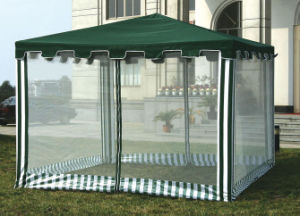 Garden Screenhouse Gazebo with Full Sidewall pictures & photos