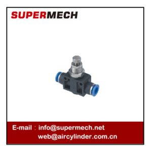 PA Pipe Speed Control Valve Pneumatic Fitting pictures & photos