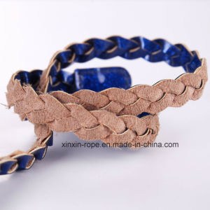 Fashion PU Leather Twine Weaving Belt for Dress Decor pictures & photos