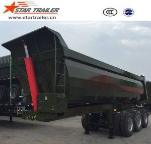 3 Axles Self-Dumping Tipper Semi-Trailer pictures & photos
