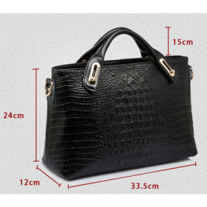 New Fashion Female Hand Shoulder Bag Leather Shell Bags pictures & photos