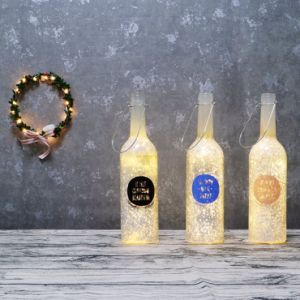 Happy Life Starlight Bottle Birthday LED Amber Love Gift Idea pictures & photos