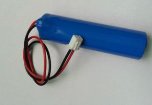 Megaphone 3.7V Lithium Battery 18650 2600mA Amplifier Battery Charge pictures & photos