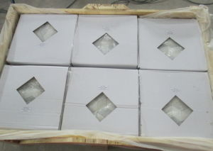 New Design Oriental White Marble Mosaic Tile Rhombus Marble Mosaic Tile pictures & photos