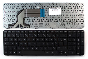 Glossy Black UK/Frame Layout Keyboard for HP Pavilion 15-N055tx Laptop pictures & photos