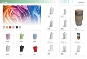 Pedestal Ceramic Wash Basin CE-D305 pictures & photos