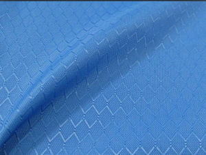 210d Nylon Diamond Check Oxford Fabric for Bag pictures & photos