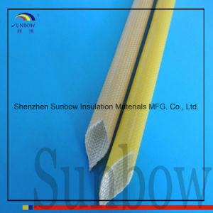 Wear Resistant Polyurethane Coated Fiberglass Thermal Insulation Sleeve pictures & photos