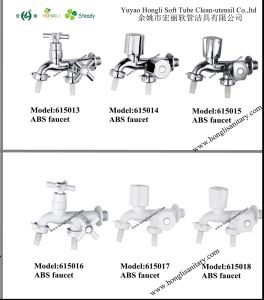 South American Market Good Quality ABS Plastic Faucet pictures & photos