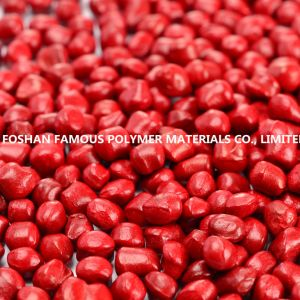 High Quality China Color Red Plastic Masterbatch Manufacturer for Film and Injection pictures & photos