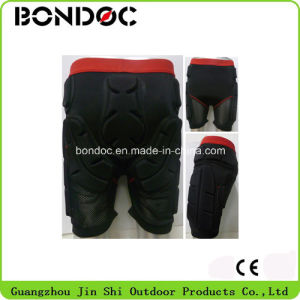 New Style Genuine Leather Racing Leather Impact Shorts pictures & photos