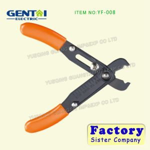 Fs-09 Thin Sideling Blade Pliers Stripping Tools Wire Stripper pictures & photos