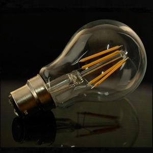 A60 Energy Saving Light 4W 6W 8W B22 E27 LED Filament Bulb pictures & photos