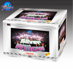 33 Shots Silver Willow with Color Box Cake Fireworks pictures & photos