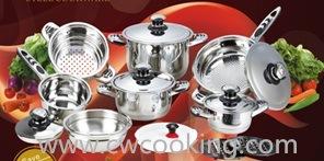 16PCS Wide Edge Cookware Set pictures & photos