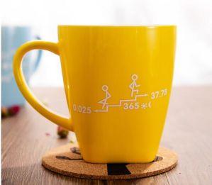 Glaze Stoneware Mug, Reactive Glaze Mug, Large Porcelain Mug pictures & photos