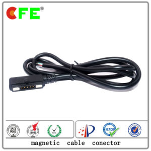 5pin Magnetic Power Cable Connetcor pictures & photos