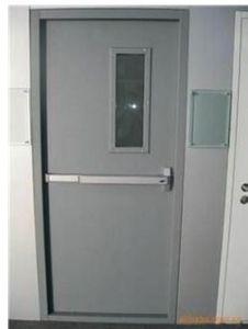 Fireproof Door Steel Fire Door with UL Certified Steel Door Single Leaf / Doule Leaf