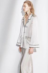 100% Silk Pajamas Fabric with 16mm Silk Satin pictures & photos