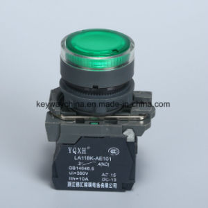 22mm Illuminated Push Button Switch (LA118KA series) pictures & photos