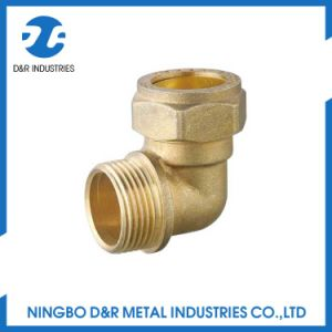 Dr 7040 Brass Elbow Fitting for Water Pipe pictures & photos
