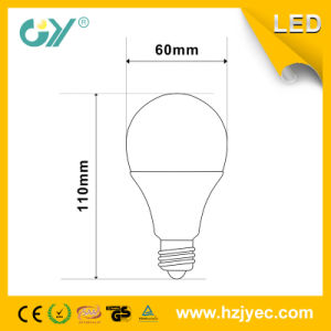 800lm E27 10W 3000k A60 LED Bulb (CE; RoHS; SAA) pictures & photos