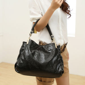 Women Patent Leather Tote Bag Designer Hangbag Top Handle Bag pictures & photos