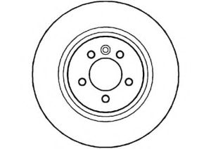 Landrover Brake Disc Vented 360mm Auto Parts pictures & photos