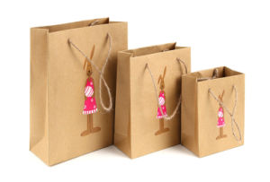 Color Printing Kraft Paper Bag Custom Gift Paper Bag Printing pictures & photos