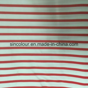88%Polyester 12%Spandex Striped Aop Fabric for Swimwear pictures & photos