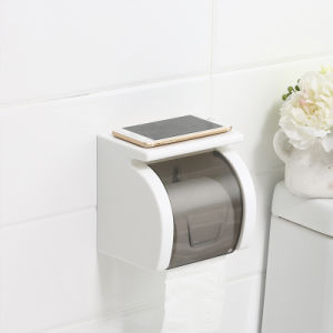 Plastic Tissue Holder with Suction Cup pictures & photos