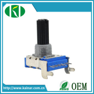 14mm Horizontal Type Rotary Potentiometer with Plastic Shaft Wh142A-2 pictures & photos