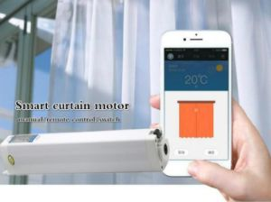 Phone APP Remote Control Smart Home Automation Solution Curtain Motor pictures & photos