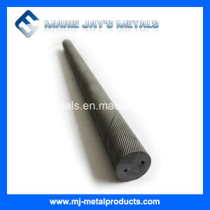 High Performance Tungsten Carbide Rods with Double Spiral Holes pictures & photos