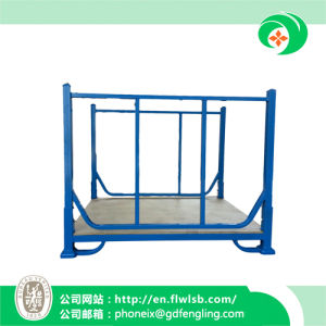 The New Folding Stacking Frame for Warehouse with Ce pictures & photos