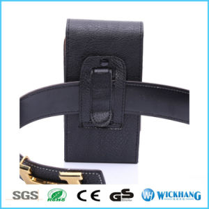 Vertical Leather Belt Clip Holster Pouch Phone Case pictures & photos