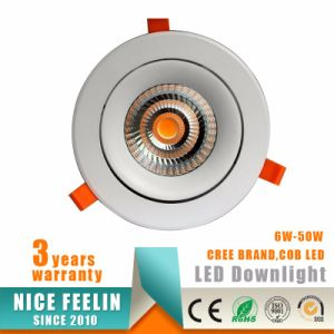 40W Recessed COB LED Ceiling Downlight with 5years Warranty pictures & photos