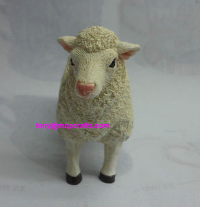 Polyrein Sheep Statue pictures & photos