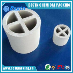 Ceramic Cross-Partition Ring Tower Packing pictures & photos