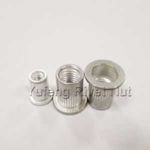 Aluminum Pan Head Rivet Nut with Knurled Body pictures & photos