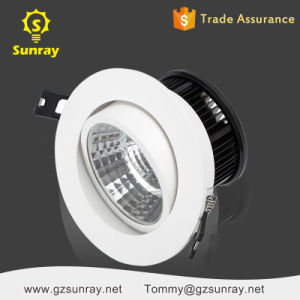 Aluminum Adjustable 5W 15W Dimmable Recessed COB LED Down Light pictures & photos