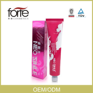 Professional Low Ammonia Permanent Hair Color for Salon Use