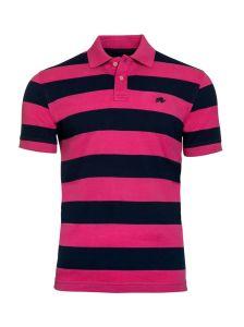 2017 New Design Customized Men Cotton Fashion Stripe Short Sleeve Polo Shirts T-Shirts Clothing (S8284)