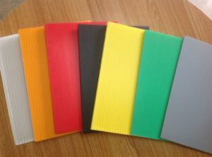 Colorful Hollow Sheet Plastic Sheets pictures & photos