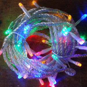 Bulk Selling Holiday Party Decoration 4 Colorful LED String Light pictures & photos