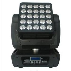 DMX512 25PCS 12W RGBW LED Moving Matrix pictures & photos