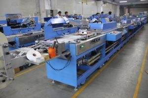 Multicolors Label Ribbons Screen Printing Machine with Large Capacity pictures & photos