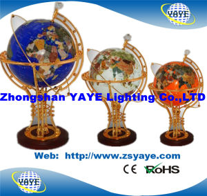 Yaye 18 Hot Sell Ce/ RoHS Lighting Gemstone Globe / Gemstone Globes / World Globes with Lighting pictures & photos