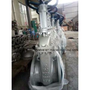 150lb 300lb 600lb Cast Carbon Steel Wcb Flange Gate Valve