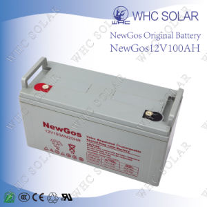 Big Discount Power Battery 12V 100ah Lead Acid Battery pictures & photos